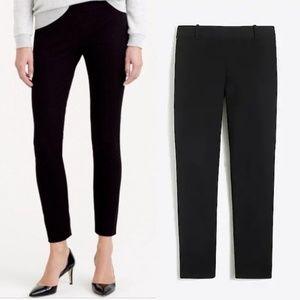 J Crew 8 Black Winnie pants stretch twill skinny